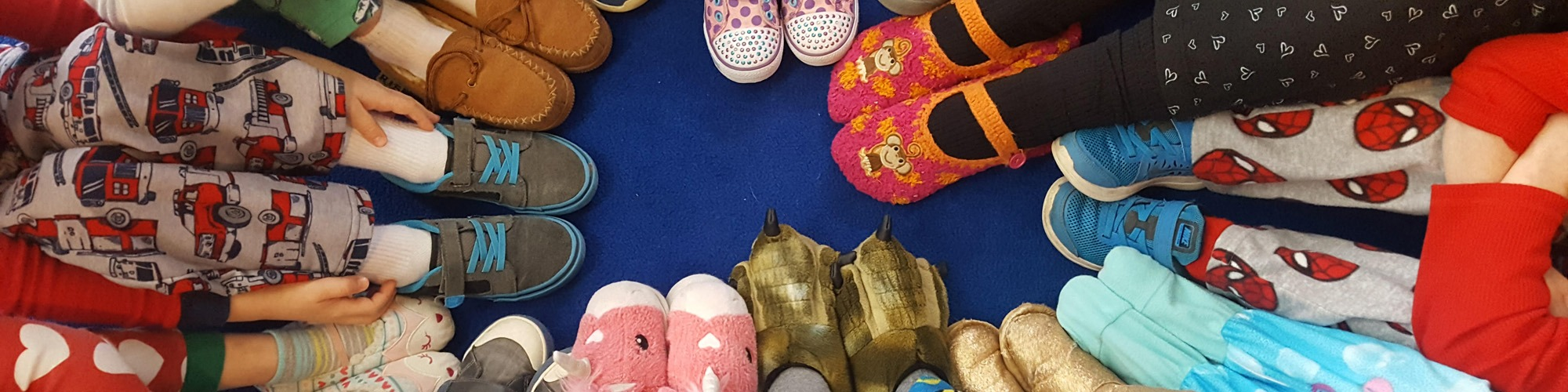 burke presbyerian church preschool shoes